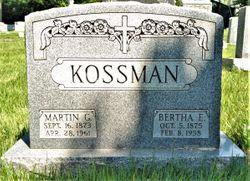 Martin Gottlieb Kossman