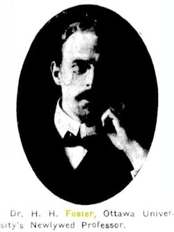 Dr Herbert Hamilton Foster
