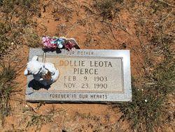 Dollie Leota <I>Bristow</I> Pierce