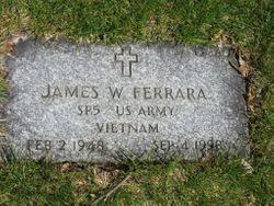 James W Ferrara