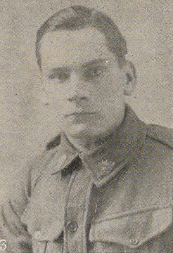 Private Leslie Wilfred Long