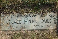 Grace Helen <I>Hopkins</I> Dues