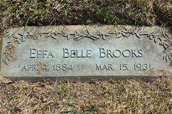 Effa Belle <I>Hopkins</I> Brooks
