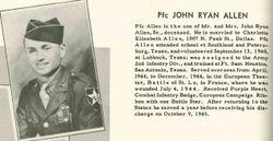 John Ryan Allen, Jr