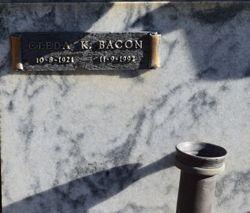 Cleda K. <I>Becker</I> Bacon