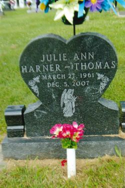Julie Ann Harner Thomas (1961-2007) - Find A Grave Memorial