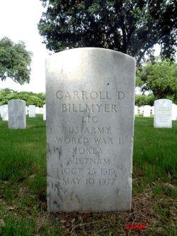 Carroll D Billmyer