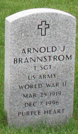 Arnold John Brannstrom