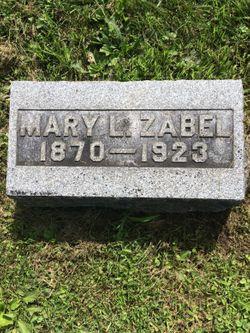 Mary Louise <I>Wagner</I> Zabel