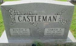 Sarah A. <I>Towns</I> Castleman