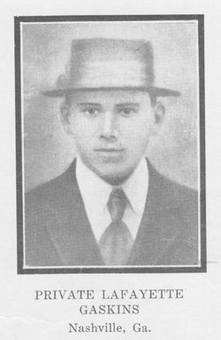 Pvt Lafayette Gaskins