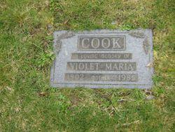 Violet Maria <I>Allen</I> Cook