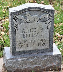 Alice Josephine Beeman