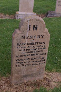 """Mary Ann """"Lasso"""" Christian"""