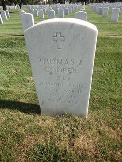 Thomas E Cooper