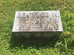Beatrice W Hyman