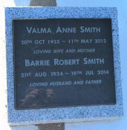 "Valma Anne ""Val"" <I>Anderson</I> Smith"