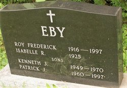 Roy Frederick Eby