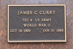 James C Curry