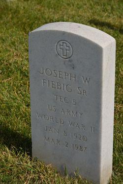 Joseph W Fiebig, Sr