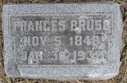 Frances <I>Bevier</I> Bruso