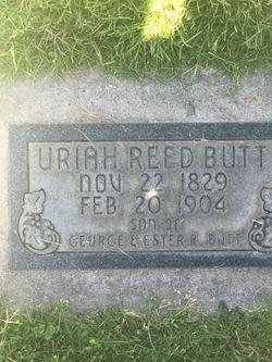 Uriah Reed Butt