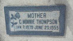 Clara Minnie <I>Hardman</I> Thompson