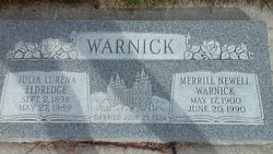 Merrill Newell Warnick