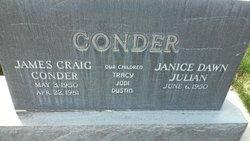 James C Conder