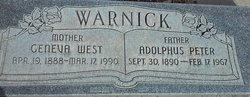 Geneva West Warnick