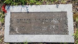 """William Wright """"Billie"""" Headrick"""