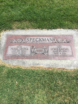 Lewis Earsel Speckman