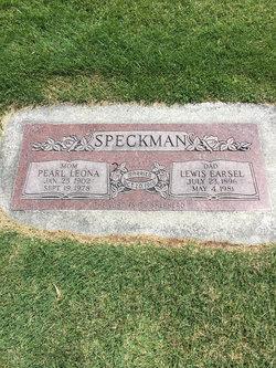 Pearl Leona <I>Hancock</I> Speckman
