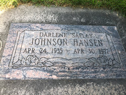 Darlene <I>Safely</I> Hanson