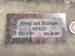 Happy June <I>Nielson</I> Baker