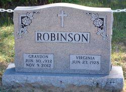 Graydon M. Robinson