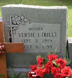 """Versie L. """"Bill"""" <I>Cunningham</I> White"""
