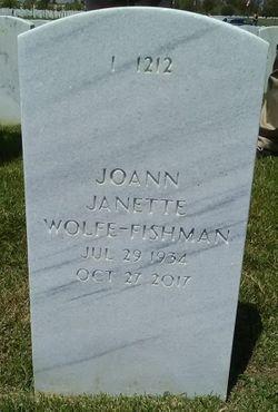 JoAnn Janette <I>Wolfe-</I> Fishman