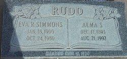 Eva Rebecca <I>Simmons</I> Rudd