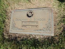Dorothy Grace <I>Wilson</I> Schoor