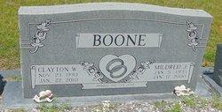Mildred J Boone