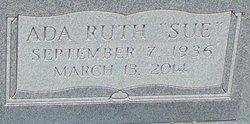 "Ada Ruth ""Sue"" Cumbie"