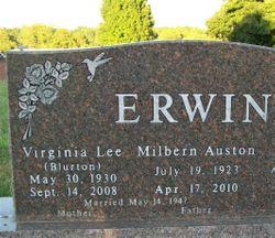 Virginia Lee <I>Blurton</I> Erwin