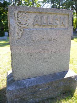 Betsey A. <I>Herring</I> Allen
