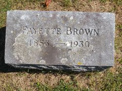 Fayette Brown