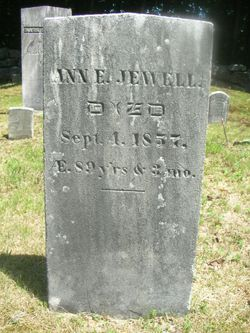 Ann Elizabeth <I>Edgerly</I> Jewell