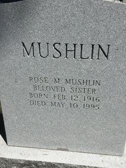 Rose M Mushlin