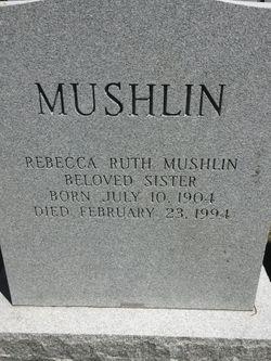 Rebecca Ruth Mushlin