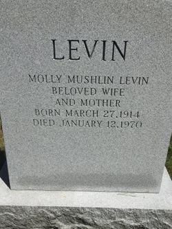 Molly <I>Mushlin</I> Levin