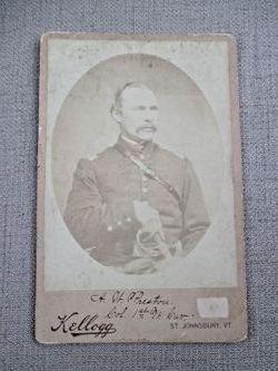 Col Addison W Preston